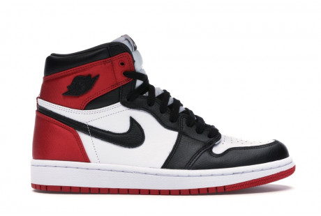 "Jordan 1 Retro High Satin ""Black Toe W"""