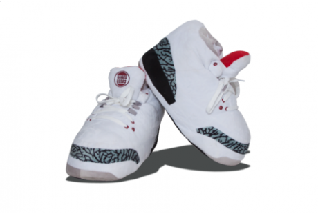 "Jordan 3 ""White Cement"" Slippers"