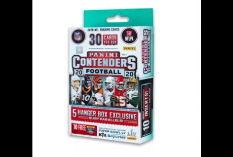 2020 Panini Contenders NFL Hangers