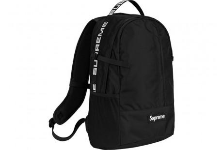 """Supreme Backpack """"(SS18) Black"""""""