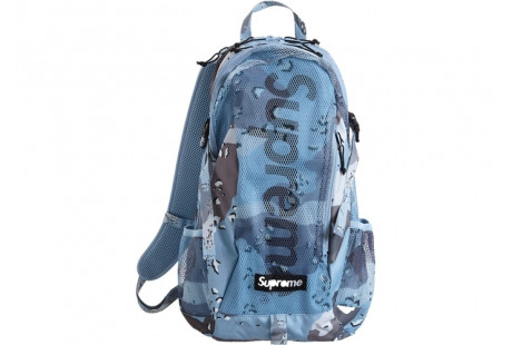 "Supreme Backpack (SS20) ""Blue Chocolate Chip Camo"""