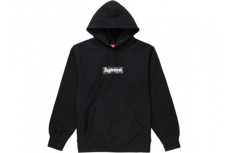 "Supreme Bandana Box Logo Hooded Sweatshirt ""Black"""