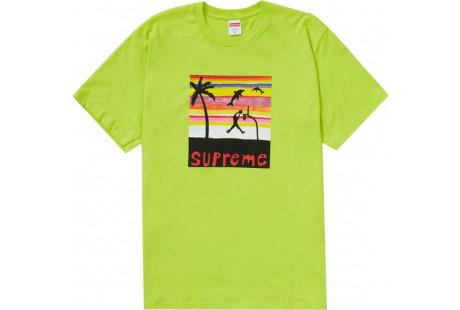Supreme Dunk Tee Bright Green