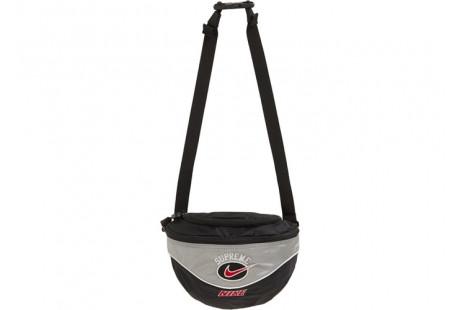 """Supreme Nike Shoulder Bag """"Silver"""""""