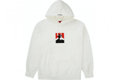 Supreme Portrait Hooded Sweatshirt (FW20) White