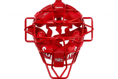 """Supreme Rawlings Catcher's Mask """"Red"""""""