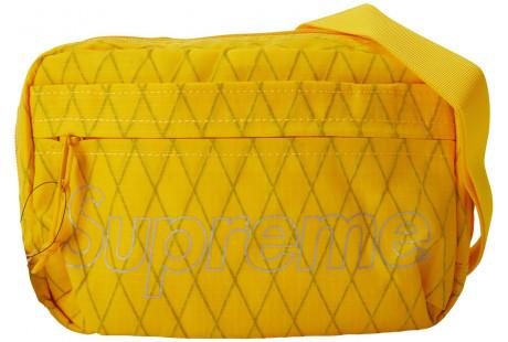 "Supreme Shoulder Bag (FW18) ""Yellow"""