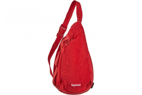 """Supreme Sling Bag """"Dark Red"""""""