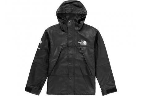 """Supreme The North Face Leather Mountain Parka """"Black"""""""