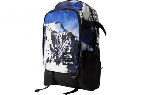 "Supreme The North Face Mountain Expedition Backpack ""Blue/White"""