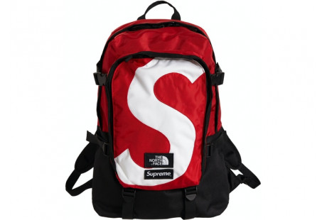 "Supreme The North Face S Logo Expedition Backpack ""Red"""