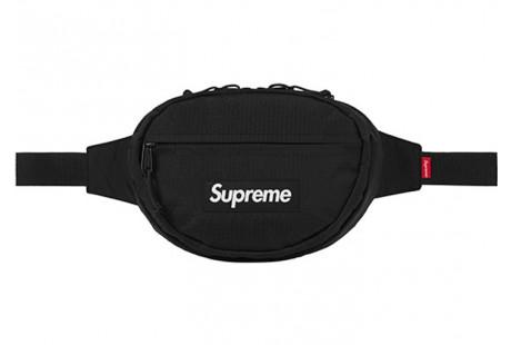 "Supreme Waist Bag (FW18) ""Black"""