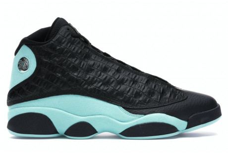 "Jordan 13 Retro ""Black Island Green"""
