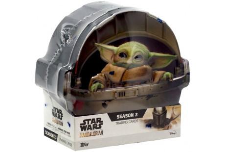 Star Wars The Mandalorian Season 2 Trading Card HOBBY Tin Box