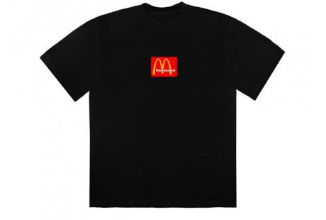 Travis Scott x McDonald's Sesame II T-Shirt Black/Red