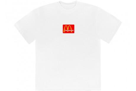 """Travis Scott x McDonald's Sesame T-Shirt """"White"""""""