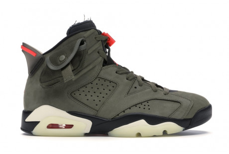 "Jordan 6 Retro ""Travis Scott"""